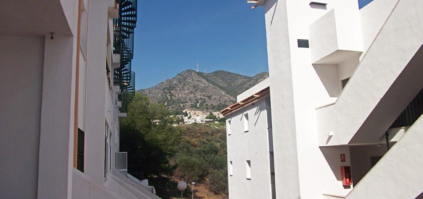 View from the apartment at Jardines de Carvajal