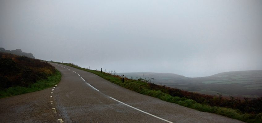 Zennor coast road at Eagles Nest