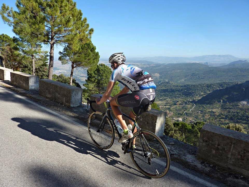 Climbing to Grazalema