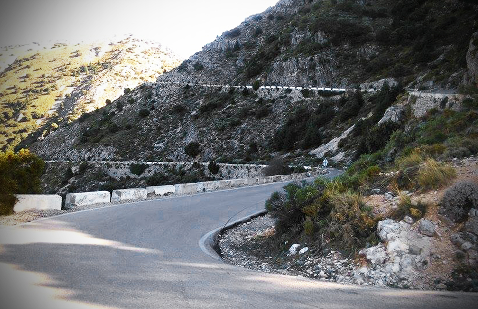 On the road to Grazalema