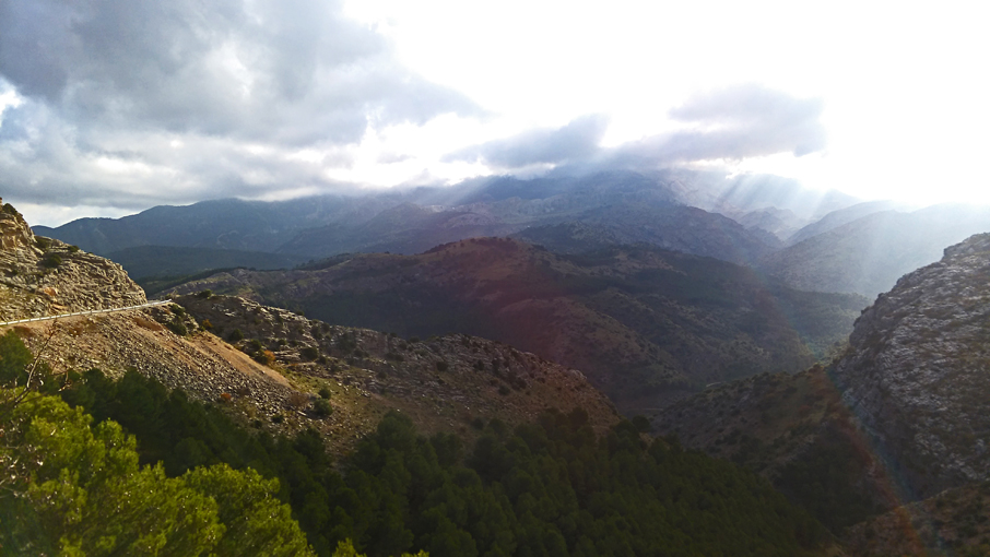 The view from Grazalema