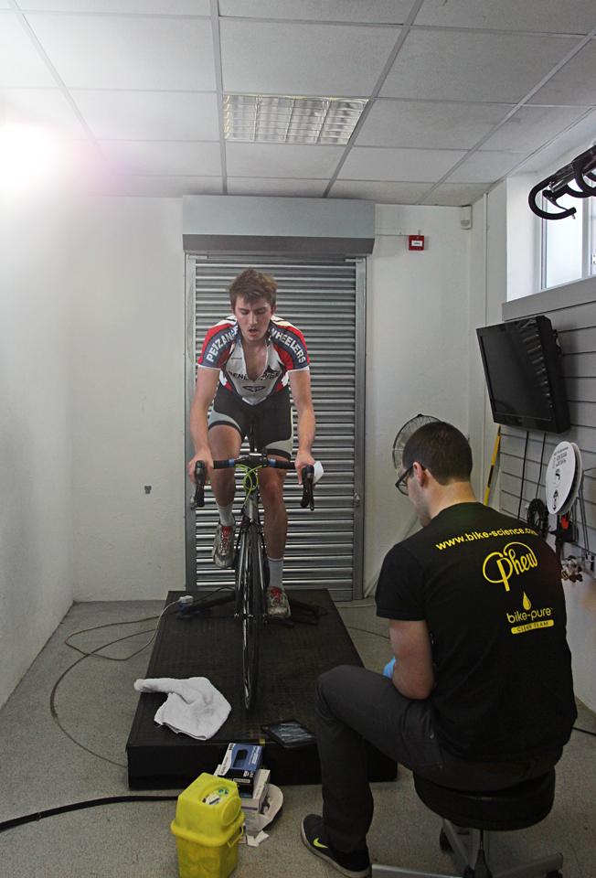 Level 2 Ramp Test at Bike Science, Bristol