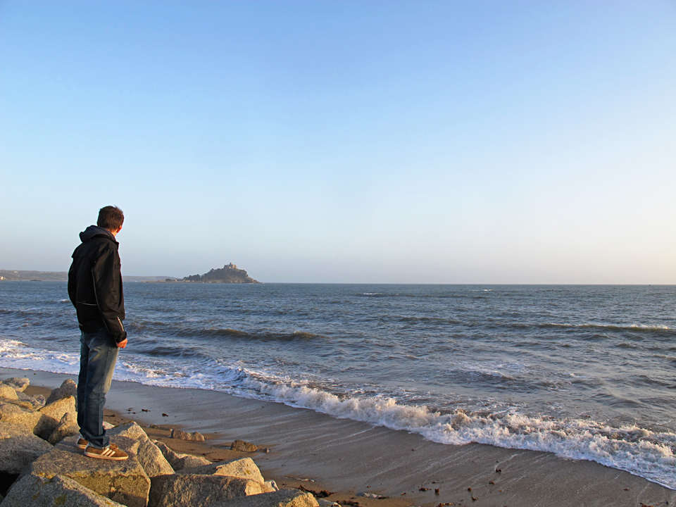 Some time out at St Michael's Mount