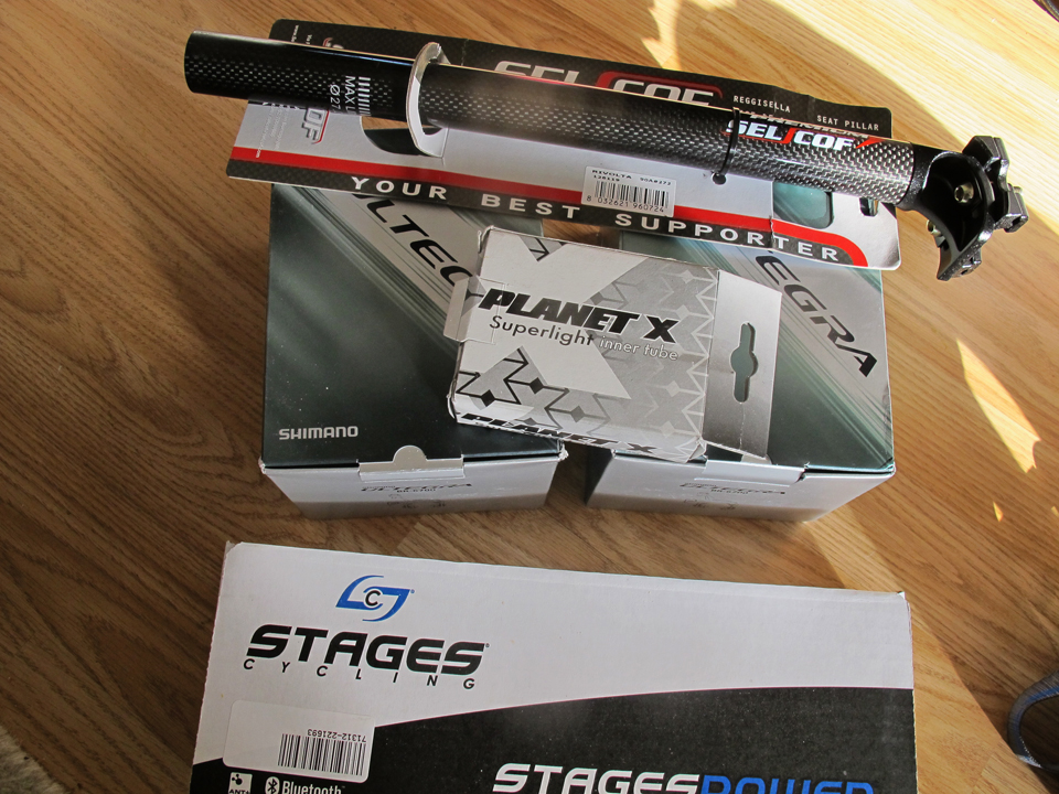 Stages Pwer Meter and other bits & bobs