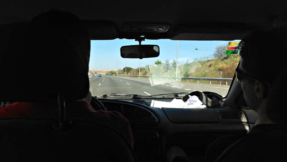 On the road to Eibar