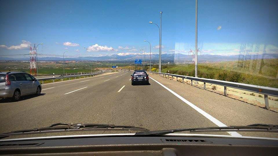 On the road to Legazpi