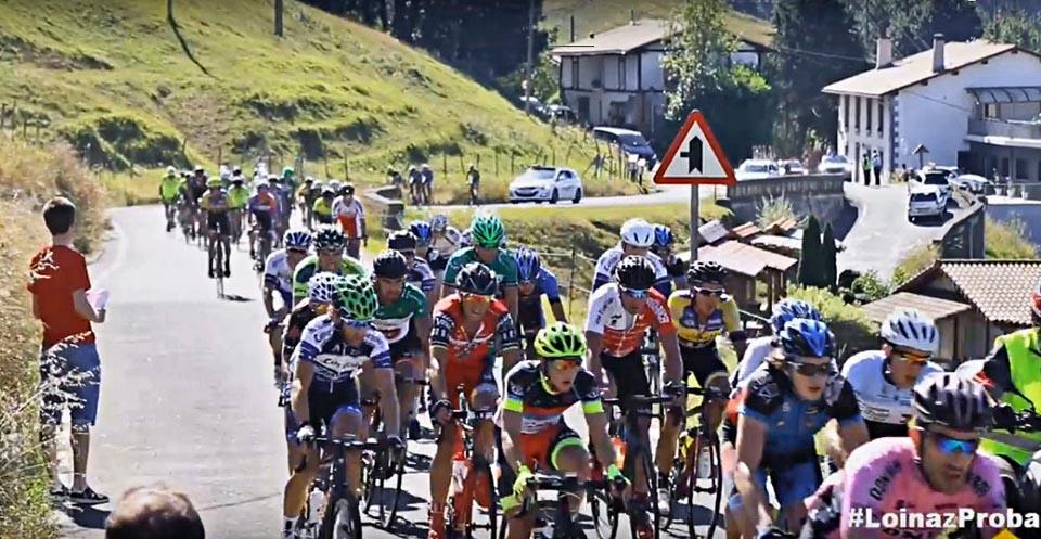 Basque country mountain climbing