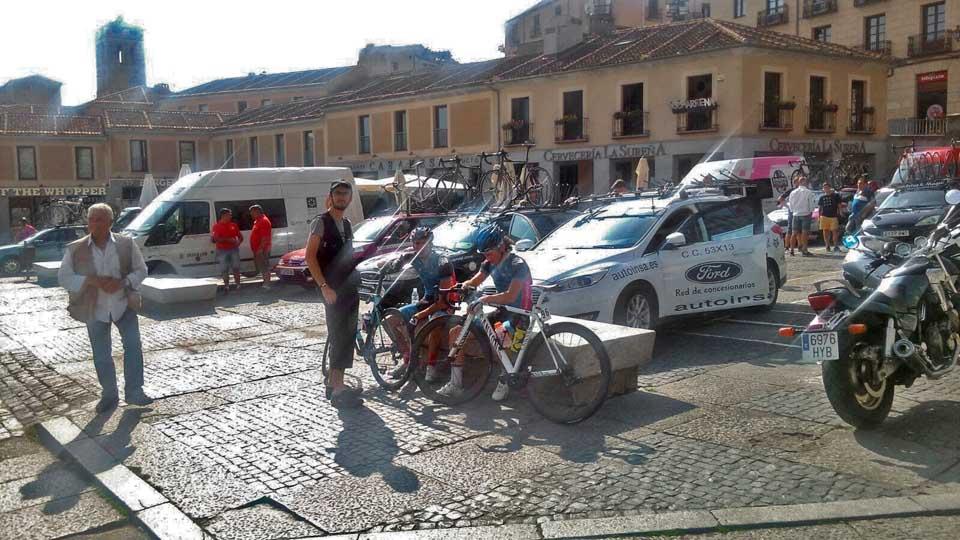 At the Vuelta Segovia 2016