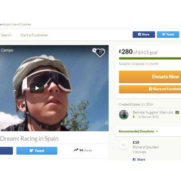 GoFundMe Campaign – Chasing My Dream