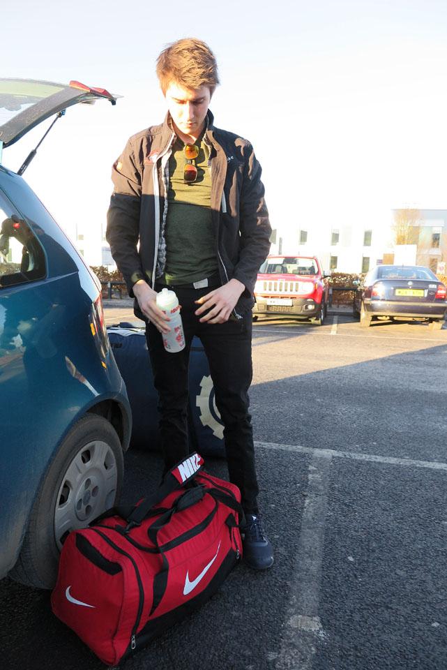 At Bristol Airport
