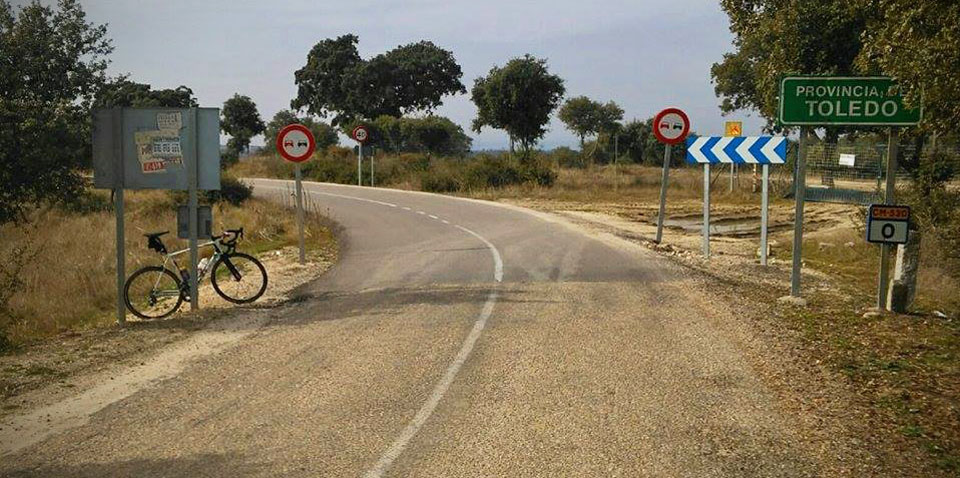 Cycling roads in Toledo