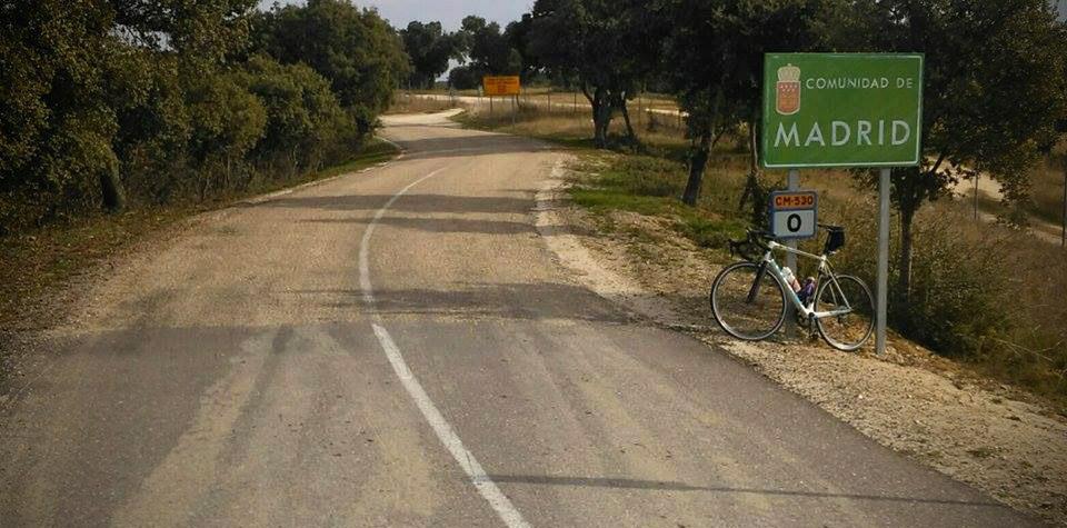 Training roads in Madrid