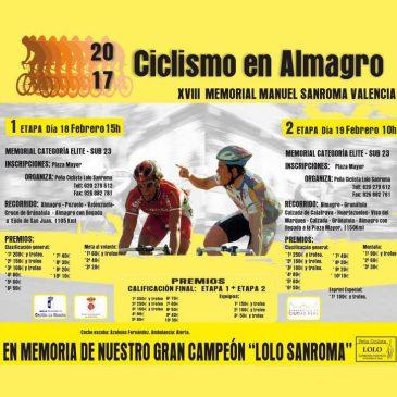 XVIII Memorial Manuel Sanroma – Almagro 2-Stage
