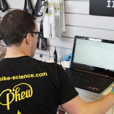Fitness Test at Bike Science Bristol