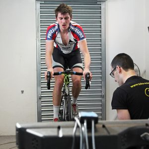 Lactate ramp testing at Bike Science, Bristol