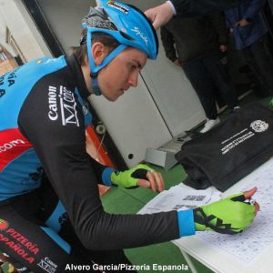 Signing on at GP Primavera de Ontur